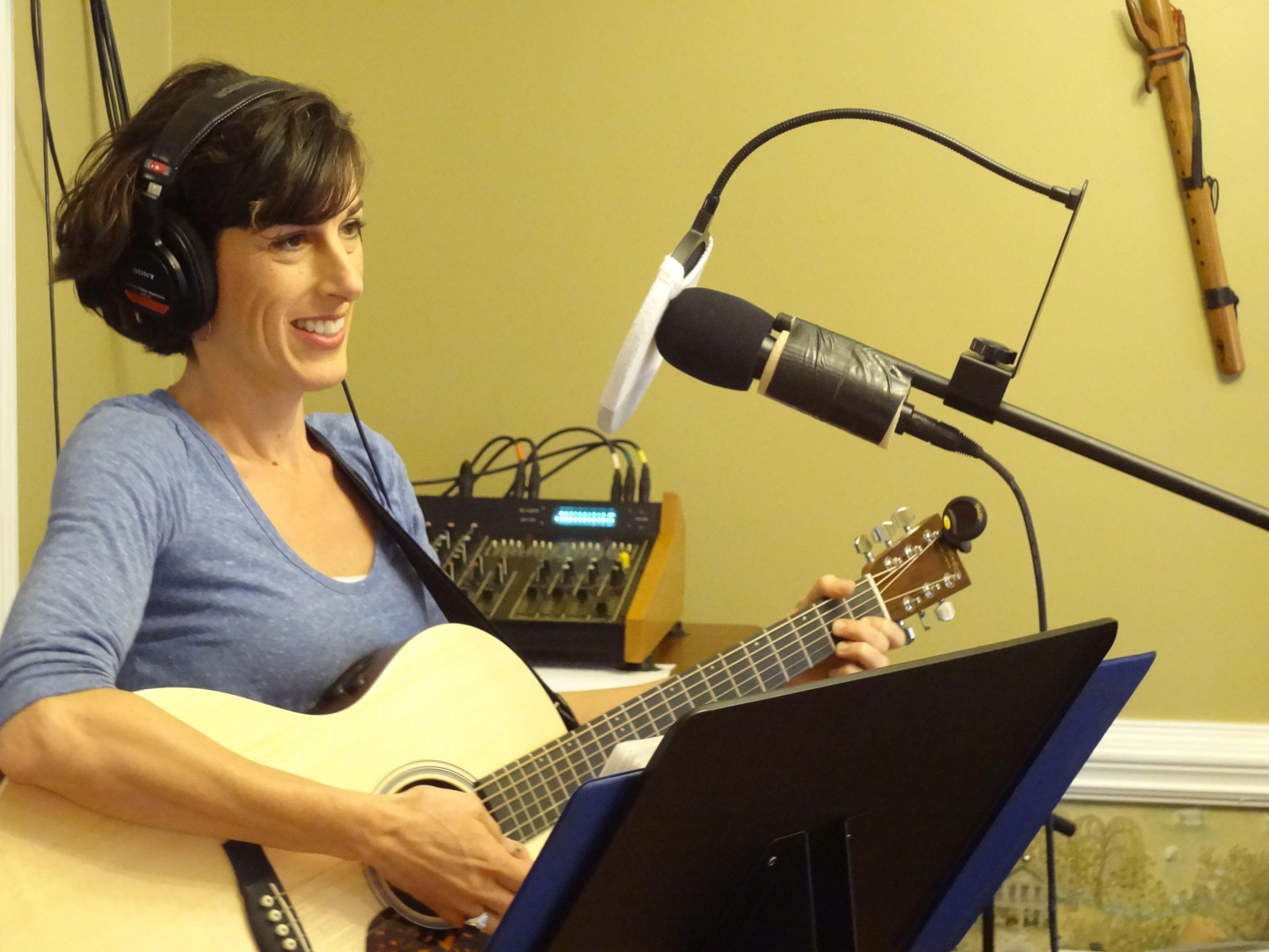 Isabel Taylor Demo Recording Session Isti Kaldor