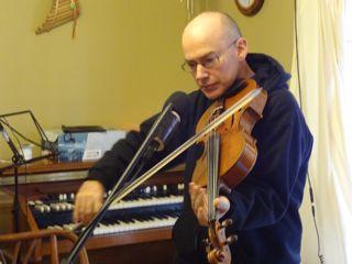 Tom Ed White Recording Session