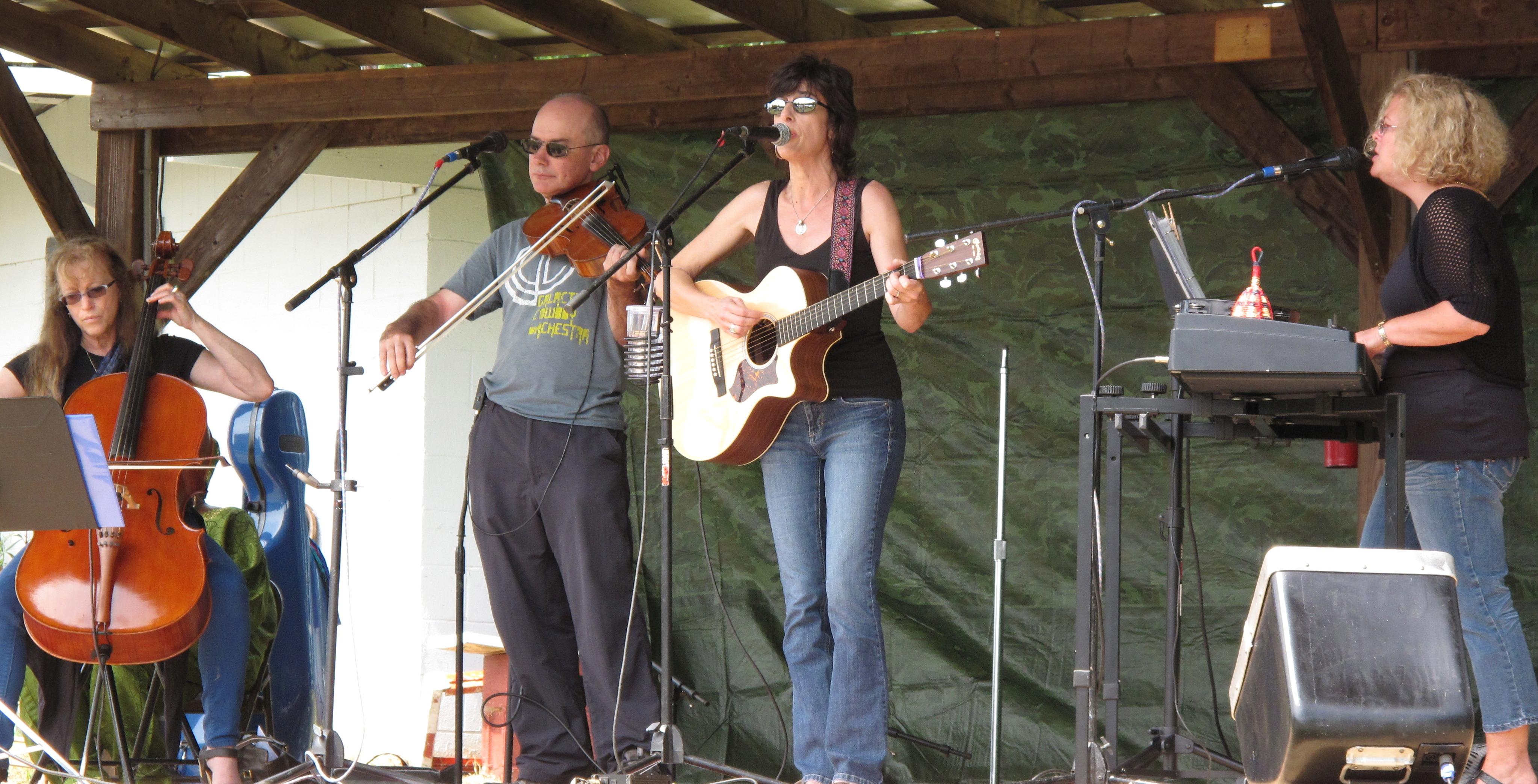 Isabel Taylor Cara Bonnett Tom Ed White Janet Hadler Chatham County Fair