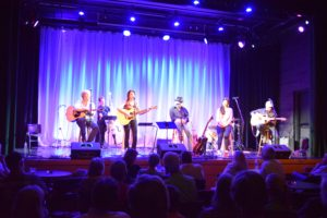 At the Cary Theater with Wyatt Easterling, Kirk Ridge, Rebekah Todd, Dean Driver