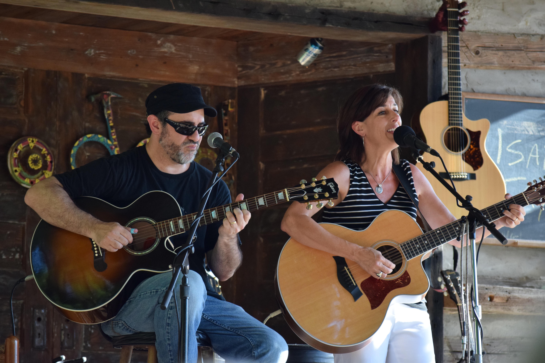 Jon Shain and Isabel Taylor